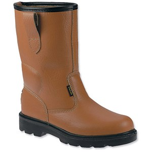 Image of Sterling Work Safety Rigger Boots / Size 12 / Tan
