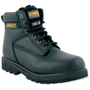Image of Dewalt Safety Boots / Size 7 / Black