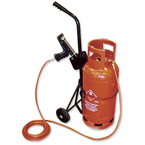 Image of Adpac Gas Cylinder Trolley - Capacity 18kg
