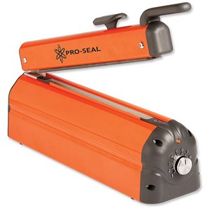 Image of Adpac Impulse Heat Sealer With Cutter / Adjustable Sealing/time / Size 620mm