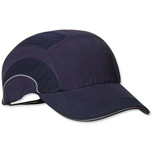 Image of JSP Hard Cap A1 Plus Ventilated Adjustable with Standard Peak 70mm Navy Ref ABR000-000-500