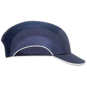 Image of JSP Hard Cap A1 Plus / Ventilated & Adjustable / Short Peak / Navy