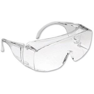 Image of Spectacles Polycarbonate Clear Lens - Deep Box Style