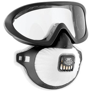 Image of JSP FilterSpec Pro FMP2 Safety Goggle Mask / Anti-Mist Lens / Black