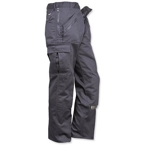 Image of Portwest Action Trousers / Regular 38in / Black
