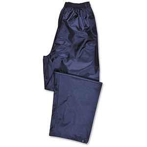 Image of Atlantic Rain Trousers with Side-pockets / Navy / Large