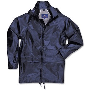 Image of Pacific Rain Jacket / EN343 Protection / Navy / Large