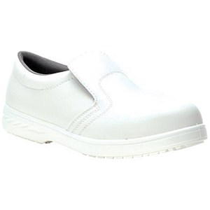 Image of Portwest S2 Hygiene Safety Shoes / Size 4 / White