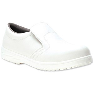 Image of Portwest S2 Hygiene Safety Shoes / Size 7 / White