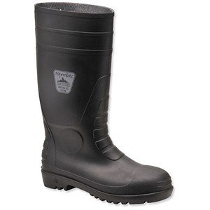 Image of Steelite Safety Wellington Boots / Size 7 / Black