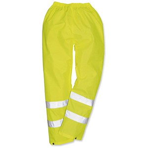 Image of Portwest High Visibility Trousers / Large / Yellow
