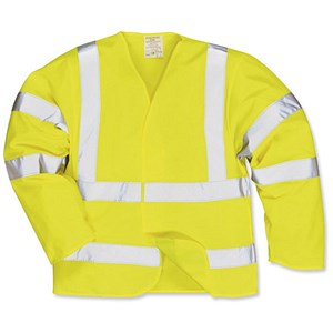 Image of Portwest High Visibility Jerkin Jacket / Extra Large / Yellow
