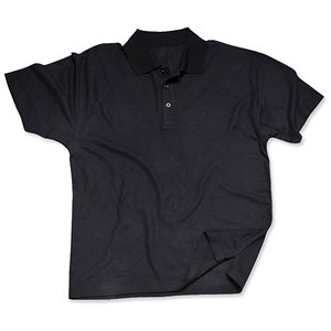Image of Portwest Polo Shirt / Black / Medium