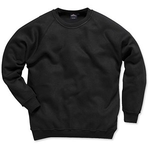 Image of Portwest Sweat Shirt / Relaxed-fit / Navy / Medium