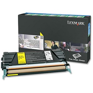 Image of Lexmark C5220YS Yellow Laser Toner Cartridge