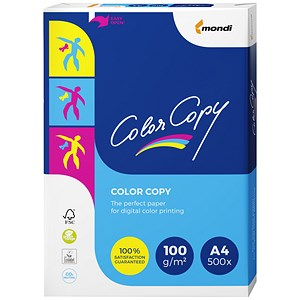 Image of Color Copy A4 Copier Premium Super Smooth Paper / White / 100gsm / Ream (500 Sheets)