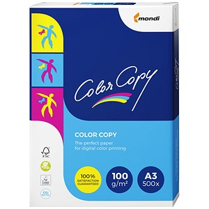 Image of Color Copy A3 Premium Super Smooth Copier Paper / White / 100gsm / Ream (500 Sheets)