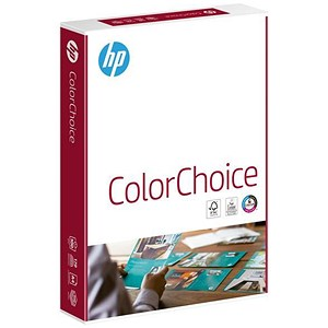 Image of HP A4 Smooth Colour Laser Paper / White / 100gsm / Ream (500 Sheets)