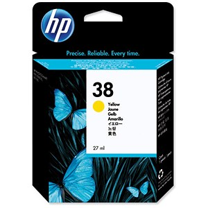 Image of HP 38 Yellow Ink Cartridge