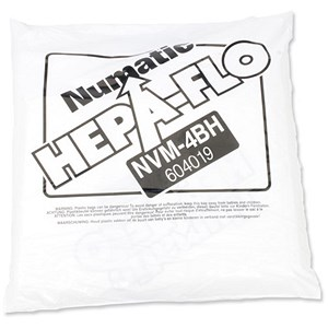 Image of Numatic Replacement Vacuum Bags for 900 & 750 - Pack of 10