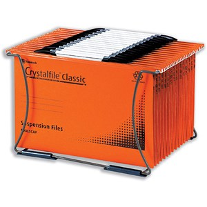 Image of Rexel Crystalfile Desk Organiser - A4 or Foolscap