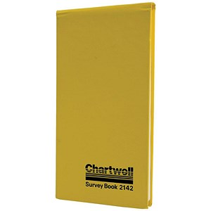 Image of Chartwell Dimension Survey Book / 106x205mm / Weather Resistant / 80 Leaf