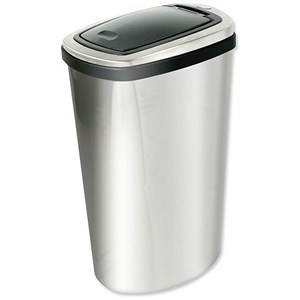 Image of Press Top Bin / Inner Liner / 40 Litre / Stainless Steel