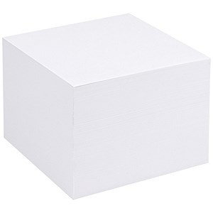 Image of 5 Star Refill Block for Noteholder Cube / 90x90mm / Ca. 750 White Sheets