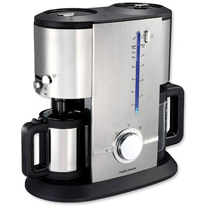 Morphy Richards Coffee Maker Model 47004 : Morphy Richards Aspects Filter Espresso Coffee Machine