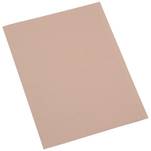Image of 5 Star Square Cut Folder Recycled Pre-punched 250gsm A4 Buff [Pack 100]