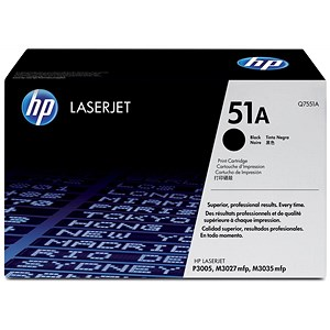 Image of HP 51A Black Laser Toner Cartridge