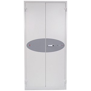 Image of Phoenix Fire Ranger Steel Storage Cupboard Fire and Burglary Resistant W930xD520x1950mm Ref FS1513K