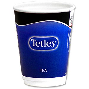 Image of Nescafe & Go Tetley Tea - Sleeve of 8 Cups