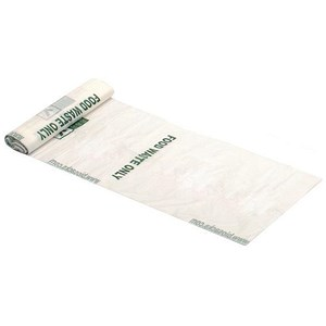 Image of Biodegradable Refuse Sacks / 7 Litre / 200x390x390mm / Roll of 25