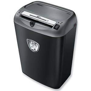 Image of Fellowes 70S Deskside Shredder Cross-cut DIN3 P-2 Ref 4671201
