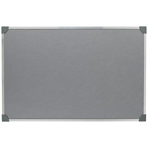 Image of 5 Star Noticeboard / Aluminium Trim / W900mm x H600mm / Grey