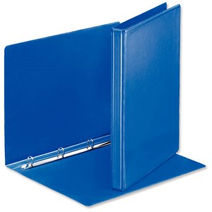 Image of Esselte Presentation Ring Binder / 4 O-Ring / 30mm Spine / 15mm Capacity / A4 / Blue / Pack of 10