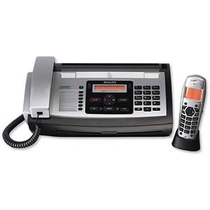 Image of Philips Magic 5 Eco Voice Fax and Answer Machine 1 Handset 50 Speed Dials 50pp Memory Ref PPF685E
