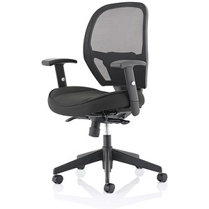 Image of Influx Amaze Mesh Chair - Black
