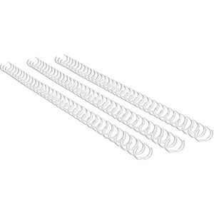 Image of GBC Binding Wire Elements / 34 Loop / 11mm / White / Pack of 100