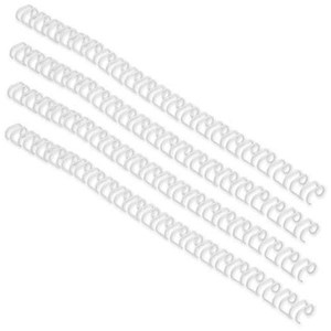 Image of GBC Binding Wire Elements / 34 Loop / 9.5mm / White / Pack of 100