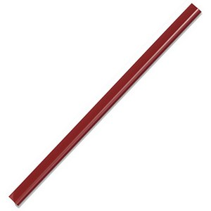 Image of Durable Spinebar / 6mm / Up to 60 A4 Sheets / Red / Pack of 50