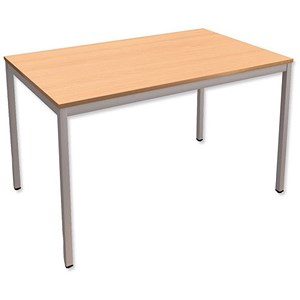 Image of Trexus Rectangular Table / 1200mm Wide / Beech