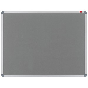 Image of Nobo Euro Plus Noticeboard / Aluminium Trim / W1528xH1018mm / Grey