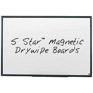 Image of 5 Star Lightweight Magnetic Drywipe Board -W1200xH900mm