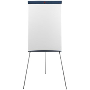 Image of 5 Star Flipchart Easel with W670xH990mm Board - Blue Trim