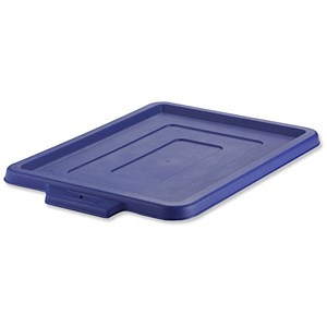 Image of Strata Storemaster Crate Maxi Lid / W360xD480xH25mm / Blue / Lid Only