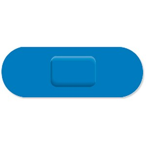 Image of Wallace Cameron Blue Catering Plasters / 70x24mm / Pack of 150