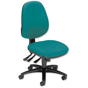 Image of Sonix Support S1 Chair Asynchronous High Back Seat W480xD450xH460-570mm Jade Green