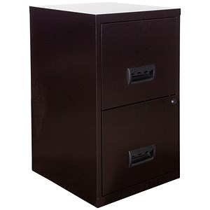 Image of Pierre Henry 2-Drawer Filing Cabinet / A4 / Black